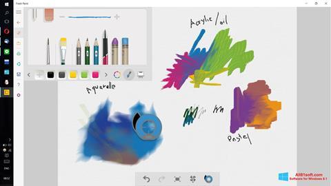 Ekrānuzņēmums Fresh Paint Windows 8.1