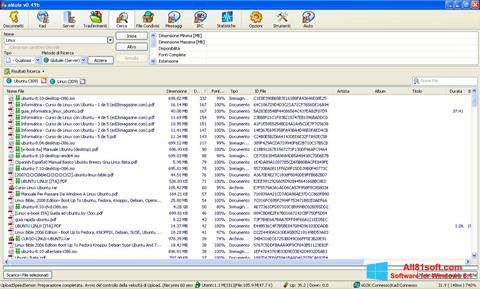 Ekrānuzņēmums eMule Windows 8.1